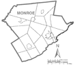 Map of Monroe County, Pennsylvania No Text.png