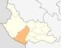 Map of Nevestino municipality (Kyustendil Province).png