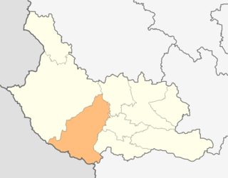 Map of Nevestino municipality (Kyustendil Province).png