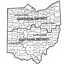 map of ohio federal court districtsjpg