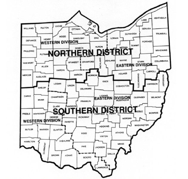 file map of ohio federal court districts jpg