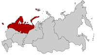 Map of Russia - Northwestern Federal District.svg