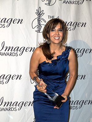 Maria Canals-Barrera - Canals-Barrera at the 2010 Imagen Foundation Awards
