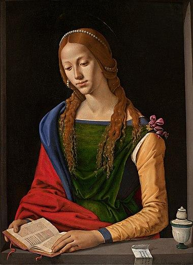 María Magdalena leyendo, por Piero di Cosimo.jpg