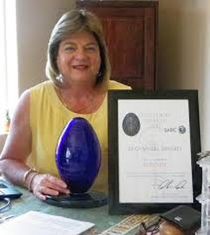 NSPCA - National Council of SPCAs - In 2012, Marcelle was the winner in the Eco-Angel award category of the Enviropaedia Eco-Logic Awards.