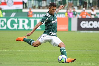 Marcos Rocha - Marcos Rocha playing for Palmeiras in 2018