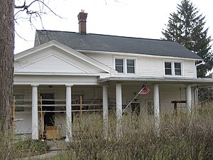 National Register of Historic Places listings in Hancock County, Ohio - Image: Marcus Dana House