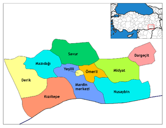 Dargeçit - Districts of Mardin Province