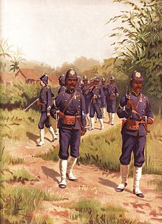 Korps Marechaussee te voet Colonial military police in the Dutch East Indies (1890-1942)