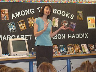 Margaret Peterson Haddix American author