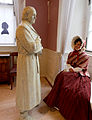 Margarete Mörike, verkörpert durch Alice Ehrmann-Pösch im Mörike-Kabinett des Deutschordensmuseums. Plastik von Leo Wirth.jpg