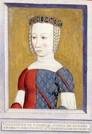 Margaret of Bourbon, Lady of Albret - Margaret of Bourbon