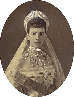wife of Alexander III of Russia