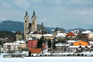 Maria Saal Place in Carinthia, Austria