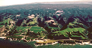 marine terraces California