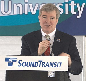 Mark Emmert - Image: Mark Emmert at University Link groundbreaking