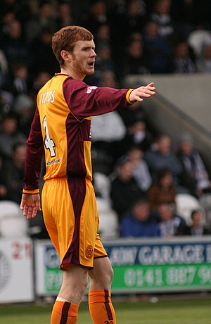 Mark Reynolds (footballer) - Reynolds playing for Motherwell in 2009