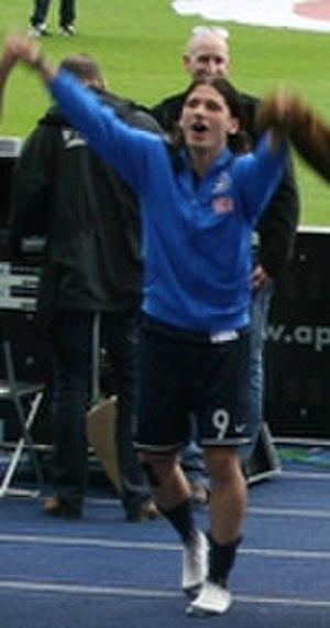 Marko Pantelić - Pantelić with Hertha
