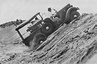 Marmon-Herrington - Marmon-Herrington all-wheel drive converted Ford 1/2-ton truck. Delivered in small numbers to the U.S. and Belgian Armies, and some other countries, circa 1936.