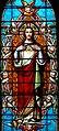 Marols - Eglise Saint-Pierre - Vitrail du Sacré coeur de Jésus.JPG