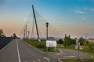 Midtown Greenway - Martin Olav Sabo Bridge