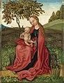 Martin Schongauer - Madonna und Kind in einem Garten (National Gallery, London).jpg