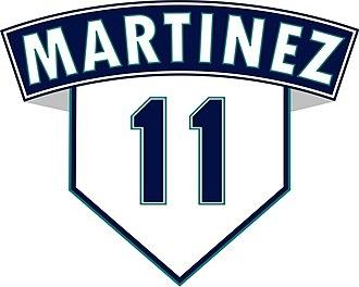 Edgar Martínez - Edgar Martínez's number 11 was retired by the Seattle Mariners in 2017.