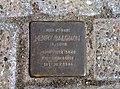 Maschplatz 3, Celle, heute Parkdeck Ecke Herzog-Ernst-Ring Blumlage, Stolperstein Henry Salomon, 1943 deportiert, Theresienstadt, Tod 30. Juli 1944.jpg