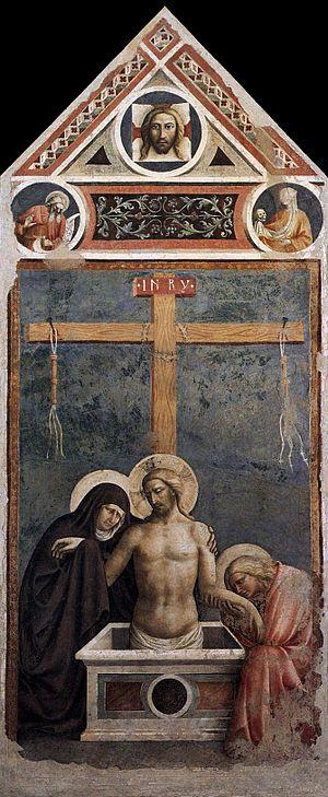 Empoli - Pietà by Masolino da Panicale.
