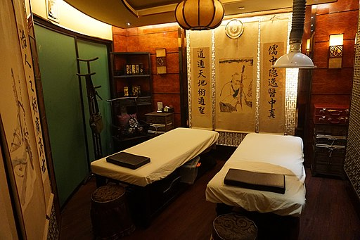 Una sala massaggio a Shanghai