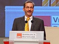 Matthias Platzeck Presidente/ministro de Brandeburgo