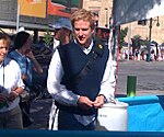 Matthew Modine from Full Metal Jacket checking out a Freewheelin bike (2800852879) (cropped).jpg