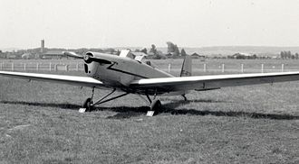 Avions Mauboussin - A Mauboussin M.123 at Persan-Beaumont airfield, Paris, in June 1957