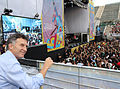 Mauricio Macri asistió a los recitales gratuitos en el Parque Roca (6827481379).jpg