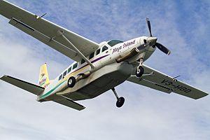 Dangriga Airport - Maya Island Air Cessna 208 at Dangriga Airport (2014)