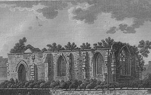 Maybole - St. Cuthbert's in 1789.