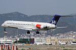 McDonnell Douglas MD-81, Scandinavian Airlines (SAS) JP7450543.jpg