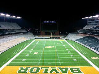 McLane Stadium football stadium at Baylor University
