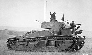Medium Mark III - A Medium III in use as a command vehicle