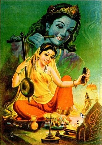 Bhakti yoga - Meerabai is considered as one of the most significant sants in the Vaishnava bhakti tradition.