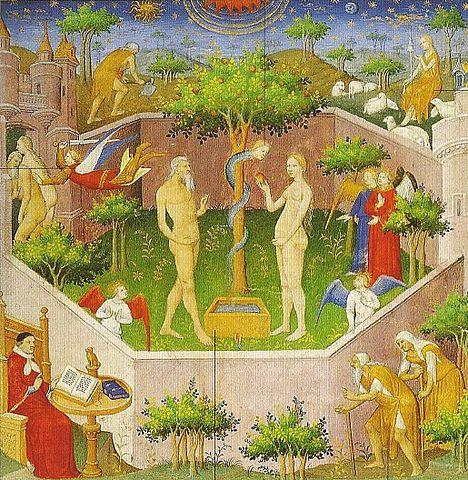 Meister des Marschalls von Boucicaut's Adam and Eve, 1415.