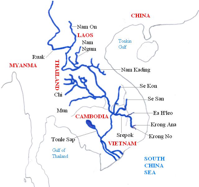 Mekong system color