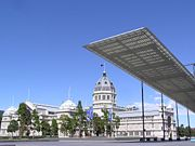 The Royal Exhibition Building, World Heritage Site and the modern Melbourne Museum