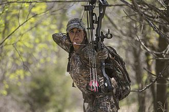 Melissa Bachman - Melissa Bachman bowhunting in 2015
