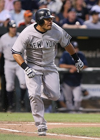 Melky Cabrera - Cabrera with the New York Yankees in 2009