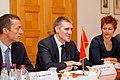 Melnkalnes premjera un Ministru prezidenta Valda Dombrovska tikšanās 31.08.2011. (6099393406).jpg