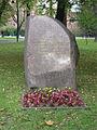 Memorial stone Klasztorny Square Katowice.jpg