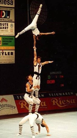 Acrobatic gymnastics - Men's four