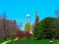 Mendota Mental Health Water Tower ^ Chimney - panoramio (1).jpg