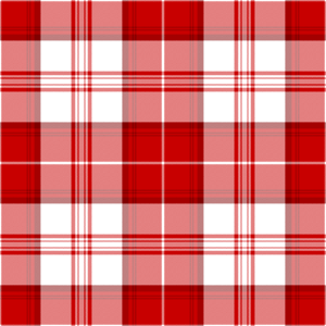Clan Menzies - Menghes tartan, as published in 1842 in the dubious Vestiarium Scoticum.